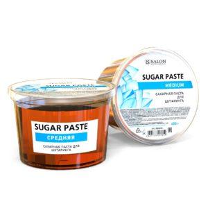 Сахарная паста для шугаринга SALON MEDIUM(средняя), 600г
