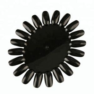 Палитра для лаков и дизайна «Ромашка» Черная, 20цв