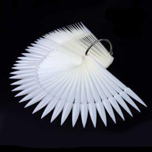 Палитра для лаков и дизайна «Стилет» на кольце Матовая, 50цв