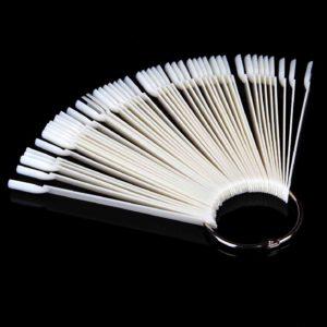 Палитра для лаков и дизайна «Веер» на кольце Матовая