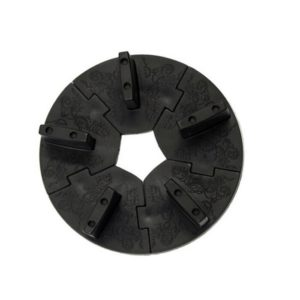 Подставка для типс «Пазл», черная