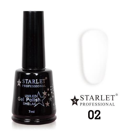 Starlet, Гель-лак №002 «Ангел», 7мл
