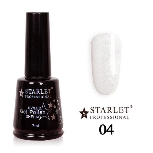 Starlet, Гель-лак №004 «Жемчужная пыль», 7мл