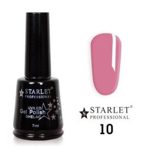 Starlet, Гель-лак №010 «Роза», 7мл