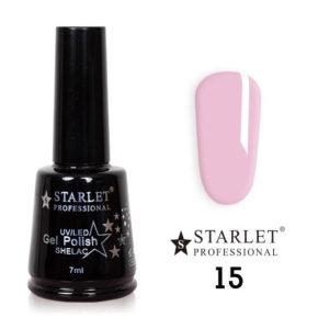 Starlet, Гель-лак №015 «Розовый туман», 7мл