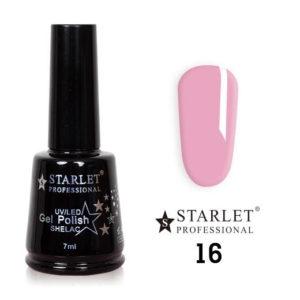Starlet, Гель-лак №016 «Розовое безе», 7мл
