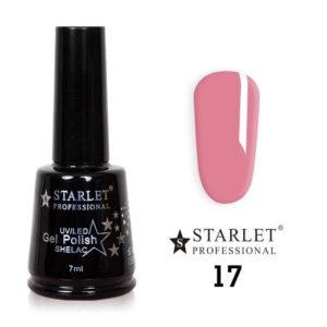 Starlet, Гель-лак №017 «Розочка», 7мл