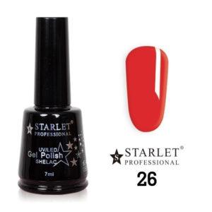 Starlet, Гель-лак №026 «Сладкая ягодка», 7мл