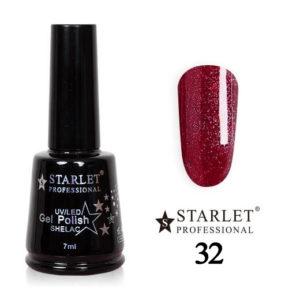 Starlet, Гель-лак №032 «Карнавальная ночь», 7мл