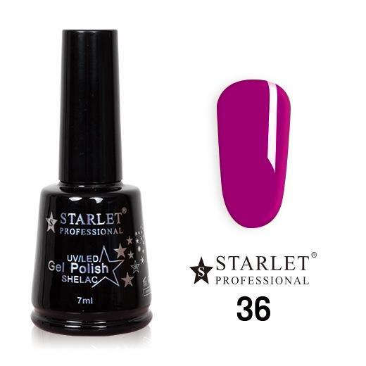 Starlet, Гель-лак №036 «Вишня» полупрозрачный, 7мл