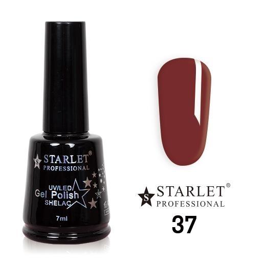 Starlet, Гель-лак №037 «Бордо», 7мл