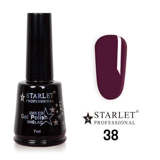 Starlet, Гель-лак №038 «Винный туман», 7мл