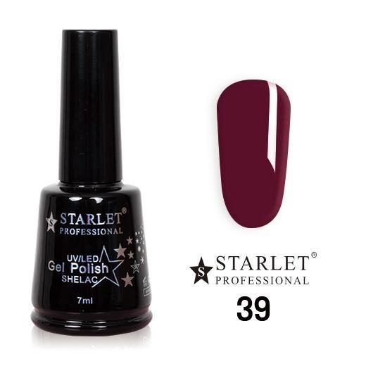 Starlet, Гель-лак №039 «Гнилая вишня», 7мл