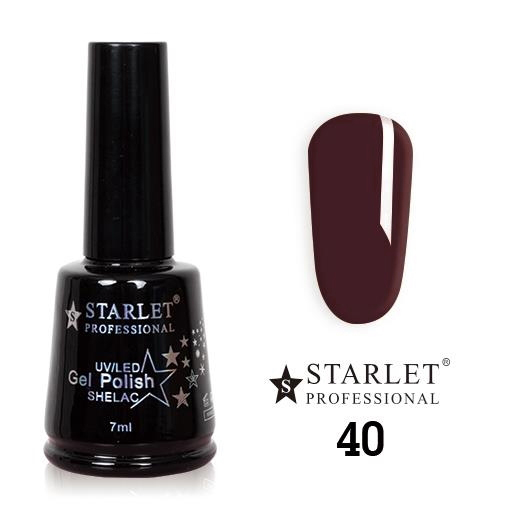 Starlet, Гель-лак №040 «Шоколадка», 7мл