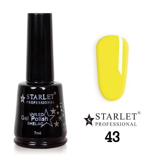 Starlet, Гель-лак №043 «Лимонный чизкейк», 7мл