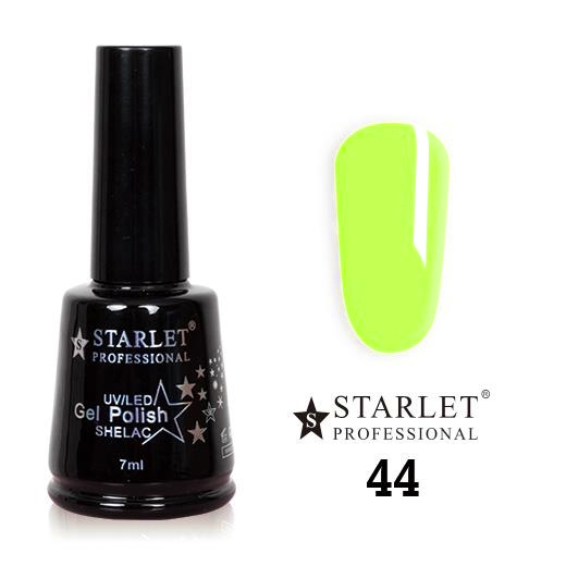 Starlet, Гель-лак №044 «Игривый лайм», 7мл