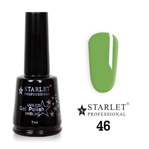 Starlet, Гель-лак №046 «Фисташка», 7мл
