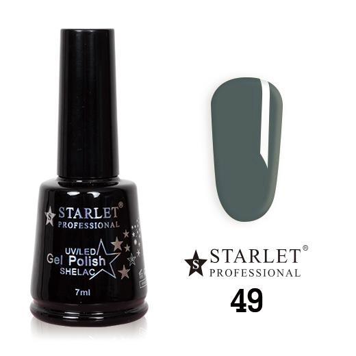 Starlet, Гель-лак №049 «Лягушка в обмороке», 7мл
