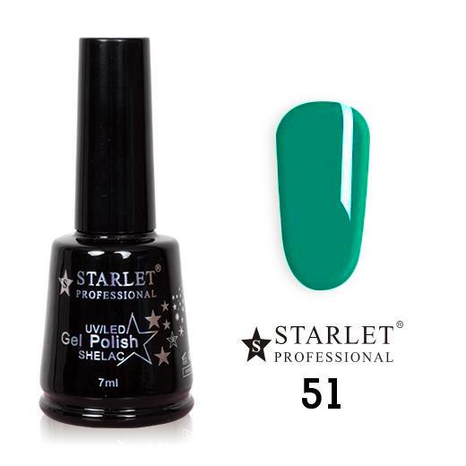 Starlet, Гель-лак №051 «Сладкая мята», 7мл