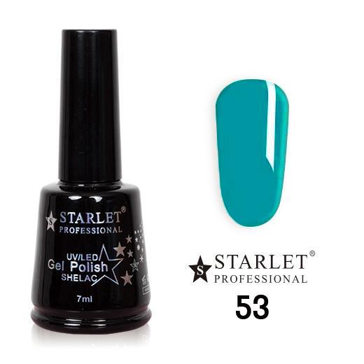 Starlet, Гель-лак №053 «Аквамарин», 7мл