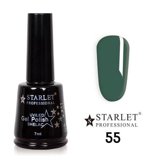 Starlet, Гель-лак №055 «Хвойный лес», 7мл
