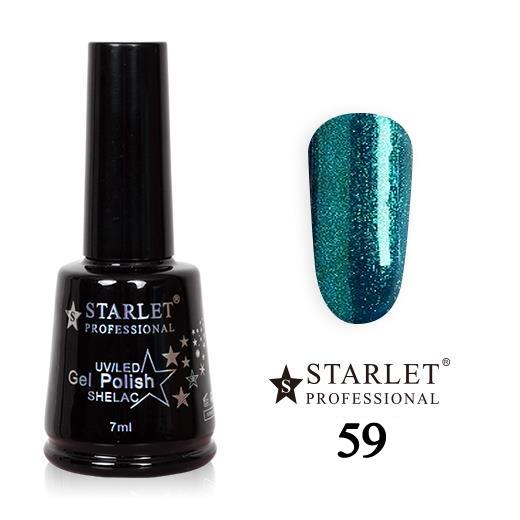 Starlet, Гель-лак №059 «Сердце океана», 7мл