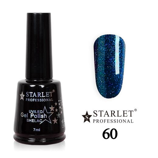 Starlet, Гель-лак №060 «Волшебная ночь», 7мл