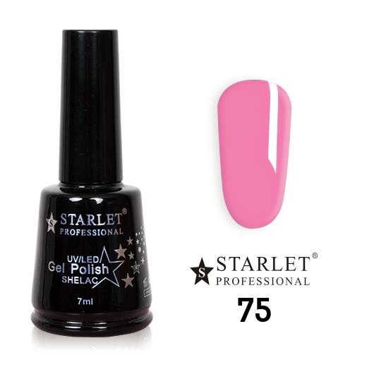 Starlet, Гель-лак №075 «Розовый фламинго», 7мл