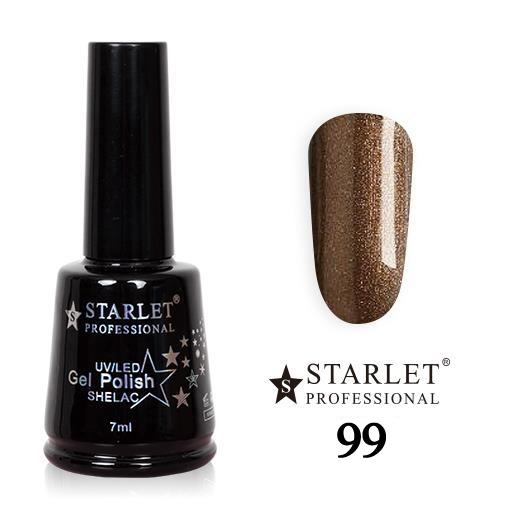 Starlet, Гель-лак №099 «Шоколадный перламутр», 7мл