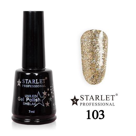 Starlet, Гель-лак №103 «Звездопад», 7мл