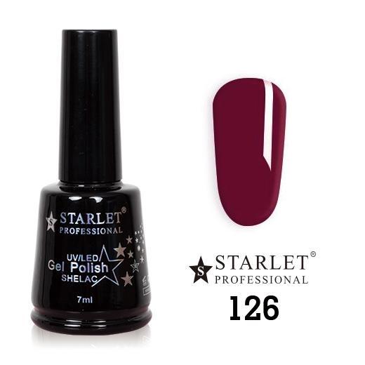 Starlet, Гель-лак №126 «Сливовое варенье», 7мл