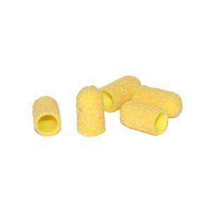 Колпачок абразивный Желтый 5х11мм, 100грит