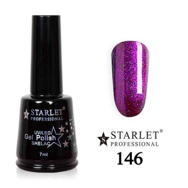 Starlet, Гель-лак №146 «Сапфировое колье», 7мл