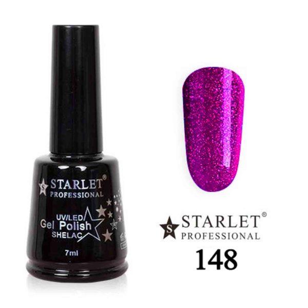 Starlet, Гель-лак №148 «Туфелька для барби», 7мл