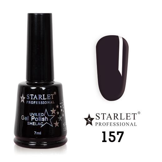 Starlet, Гель-лак №157 «Чернильная фиалка», 7мл
