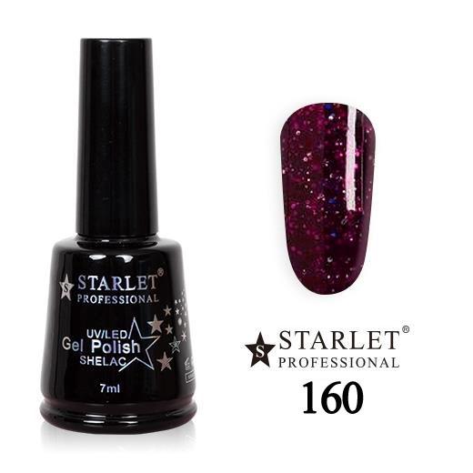 Starlet, Гель-лак №160 «Восточная сказка», 7мл