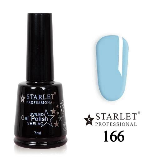 Starlet, Гель-лак №166 «Лазурный берег», 7мл