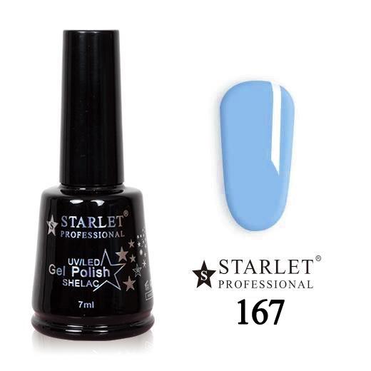 Starlet, Гель-лак №167 «Голубая лагуна», 7мл