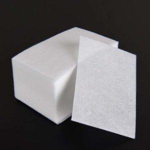 Безворсовые салфетки плотные, Белые ~60шт