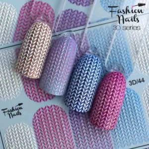 Fashion Nails, Слайдер дизайн 3D-44