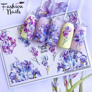 Fashion Nails, Слайдер дизайн 3D-90