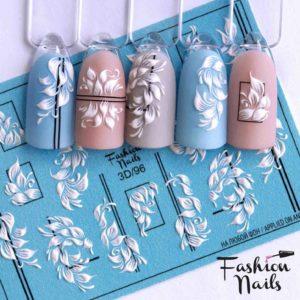 Fashion Nails, Слайдер дизайн 3D-96