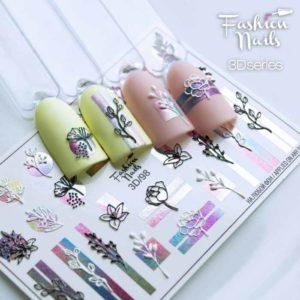 Fashion Nails, Слайдер дизайн 3D-98