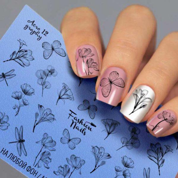 Fashion Nails, Слайдер дизайн AeroGraphy-12