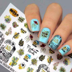 Fashion Nails, Слайдер дизайн Metallic - 259