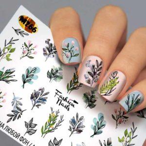 Fashion Nails, Слайдер дизайн Metallic-266
