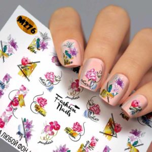 Fashion Nails, Слайдер дизайн Metallic - 276