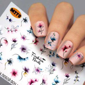 Fashion Nails, Слайдер дизайн Metallic - 278