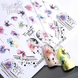 Fashion Nails, Слайдер дизайн Metallic-282