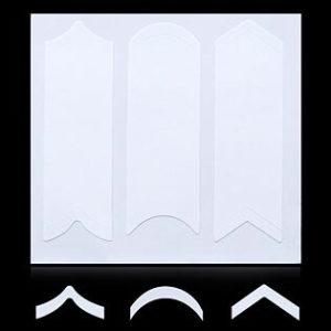 Трафарет для дизайна ногтей №01